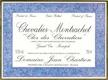 Domaine Jean Chartron Chevalier-Montrachet Grand Cru Clos des Chevaliers - label