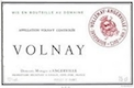 Domaine Marquis d'Angerville Volnay  - label