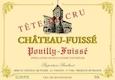 Château Fuissé Pouilly-Fuissé Tête de Cru - label