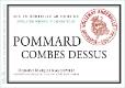 Domaine Marquis d'Angerville Pommard Premier Cru Combes-Dessus - label