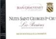Domaine Jean Chauvenet Nuits-Saint-Georges Premier Cru Les Perrières - label