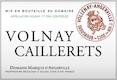 Domaine Marquis d'Angerville Volnay Premier Cru Les Caillerets - label