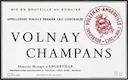 Domaine Marquis d'Angerville Volnay Premier Cru Champans - label