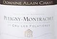 Domaine Alain Chavy Puligny-Montrachet Premier Cru Les Folatières - label
