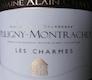 Domaine Alain Chavy Puligny-Montrachet Premier Cru Les Charmes - label
