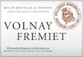 Domaine Marquis d'Angerville Volnay Premier Cru Frémiets - label