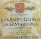 Domaine Robert Chevillon Nuits-Saint-Georges Premier Cru Les Saints-Georges - label