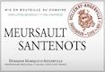 Domaine Marquis d'Angerville Meursault Premier Cru Santenots - label