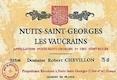 Domaine Robert Chevillon Nuits-Saint-Georges Premier Cru Les Vaucrains - label