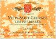 Domaine Robert Chevillon Nuits-Saint-Georges Premier Cru Les Perrières - label