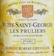 Domaine Robert Chevillon Nuits-Saint-Georges Premier Cru Les Pruliers - label