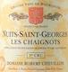 Domaine Robert Chevillon Nuits-Saint-Georges Premier Cru Les Chaignots - label