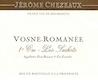 Jérôme Chezeaux Vosne-Romanée Premier Cru Les Suchots - label