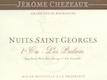 Jérôme Chezeaux Nuits-Saint-Georges Premier Cru Les Pruliers - label