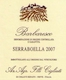 Cigliuti Barbaresco Serraboella - label