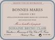 Domaine Bruno Clair Bonnes-Mares Grand Cru  - label