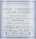 Domaine Bruno Clair Gevrey-Chambertin Premier Cru Fontenys - label
