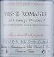 Domaine Bruno Clair Vosne-Romanée Les Champs Perdrix - label