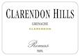 Clarendon Hills Romas Grenache - label