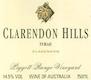 Clarendon Hills Piggott Range Syrah - label