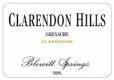 Clarendon Hills Blewitt Springs Grenache - label