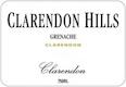 Clarendon Hills Clarendon Grenache - label