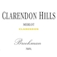 Clarendon Hills Brookman Merlot - label