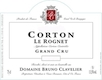 Domaine Bruno Clavelier Corton Grand Cru Le Rognet - label