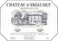 Château d' Angludet  - label