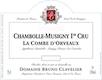 Domaine Bruno Clavelier Chambolle-Musigny Premier Cru La Combe d'Orveaux Vieilles Vignes - label