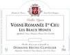 Domaine Bruno Clavelier Vosne-Romanée Premier Cru Les Beaux Monts Vieilles Vignes - label