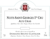 Domaine Bruno Clavelier Nuits-Saint-Georges Premier Cru Aux Cras Vieilles Vignes - label