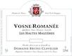 Domaine Bruno Clavelier Vosne-Romanée Les Hautes Maizières Vieilles Vignes - label