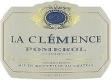 Château La Clémence  - label