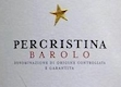 Domenico Clerico Barolo Percristina - label