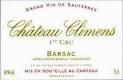 Château Climens  Premier Cru - label