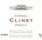Château Clinet  - label