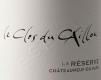 Clos du Caillou Châteauneuf-du-Pape La Réserve - label