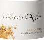 Clos du Caillou Châteauneuf-du-Pape Les Safres Blanc - label