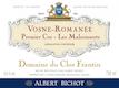 Domaine du Clos Frantin Vosne-Romanée Premier Cru Aux Malconsorts - label