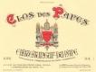 Clos des Papes Châteauneuf-du-Pape  - label