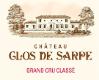 Clos Sarpe  Grand Cru Classé - label
