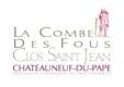 Clos Saint-Jean Châteauneuf-du-Pape La Combe Des Fous - label