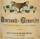 Domaine Jean-François Coche-Dury Meursault Premier Cru Genevrières - label