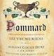 Domaine Jean-François Coche-Dury Pommard Les Vaumuriens - label