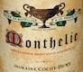 Domaine Jean-François Coche-Dury Monthelie  - label