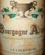 Domaine Jean-François Coche-Dury Bourgogne Aligoté  - label