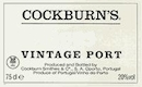 Cockburn's Porto  Vintage Port - label