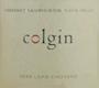 Colgin Cellars Herb Lamb Cabernet Sauvignon - label