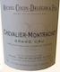 Domaine Colin-Deléger Chevalier-Montrachet Grand Cru  - label